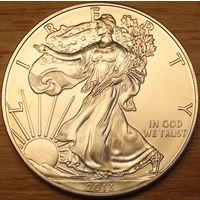 1 доллар 2013г. Американский серебряный орел.