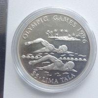 Токелау 5 долларов 1996г