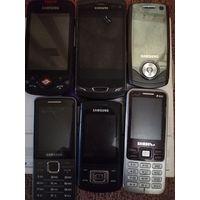 Лот телефонов Samsung
