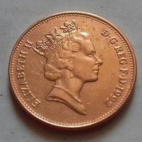 2 пенса, Великобритания 1992 г.