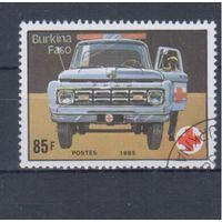 [1865] Буркина-Фасо 1985. Техника.Транспорт.Автомобиль. Гашеная марка.
