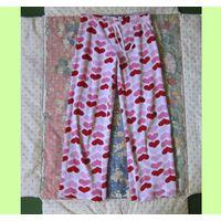 Теплые пижамные штаны, р.42-44