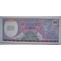 Суринам 100 гульденов 1985 г. (g)