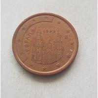 5 евроцентов 1999 Испания
