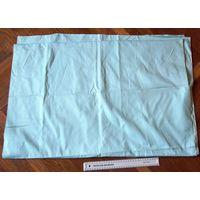 Плотная хлопчатобумажная ткань приятного фисташкового цвета. 80х4.43 см