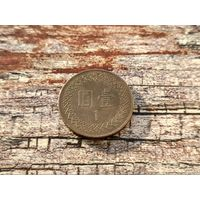 Тайвань. 1 доллар 1995 (84).