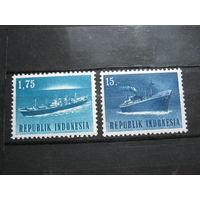 Транспорт, корабли, флот Индонезия 2 марки