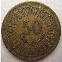 Тунис 50 миллимов 1993 г. (d)