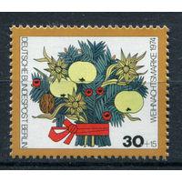 Берлин - 1974г. - Рождество - полная серия, MNH с пузырьками на клее [Mi 481] - 1 марка