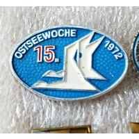 Значок ГДР 1972 птицы
