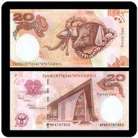 Папуа-Новая Гвинея. 20 кина 2008. [UNC]