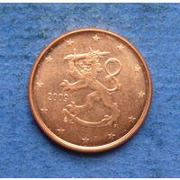 Финляндия 1 евроцент 2009
