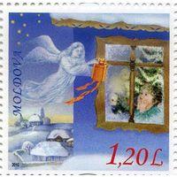 Молдова 2010 Рождество, марка **