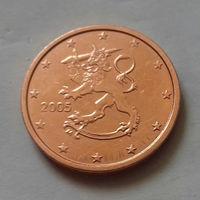 2 евроцента, Финляндия 2005 г.