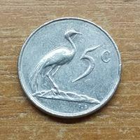 5 центов ЮАР 1977 _РАСОДАПРЖА КОЛЛЕКЦИИ