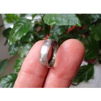 Старинное серебряное кольцо с инициалами