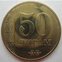 Таджикистан 50 дирамов 2018 г.