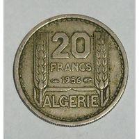 Франц. Алжир 20 Фр. 1956 (94)