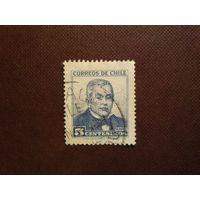 Чили 1960 г.Мануэль Монтт (1809-1880).