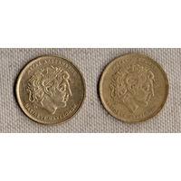 Греция 100 драхм 1992/1994