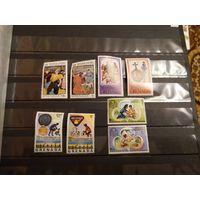 8 марок искусство культура чистые MNH** (1-л1)