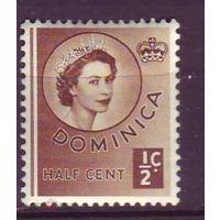 Брит. Доминика. 1954 г. см. условие