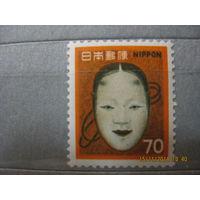 Япония. Маска, персонаж театра кабуки. 1962г.