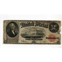 2 Доллара 1917год