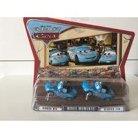 Машинки Тачки Диноко Мия и Тия Disney Pixar Cars Movie Moments Dinoco Mia, Dinoco Tia 2-Pack