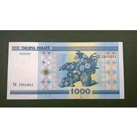 1000 рублей  серия ТБ (UNC)