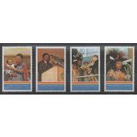 1993 Свазиленд 624-627 25 лет король Мсвати III 4,00евро