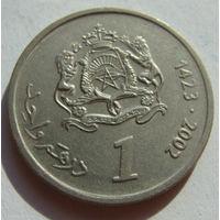 Марокко 1 дирхам 2002 г