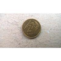 Польша 2 гроша, 2001г.