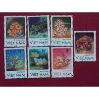 Вьетнам 1987г. Морская флора.