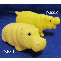 Бегемот(игрушка СССР,пластмассовая)-No1 и No2