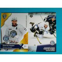 Куинтон Хауден - 2 карточки 10 и 11 сезона КХЛ одним лотом.
