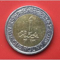 75-12 Египет, 1 фунт 2010 г.
