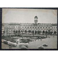 Ленинград. Площадь Восстания. Московский вокзал. 1955 г. Подписана.