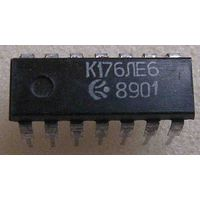 Микросхема К176ЛЕ6