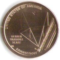 1 доллар США 2020 год Переменная шкала Гербера серия Американские инновации