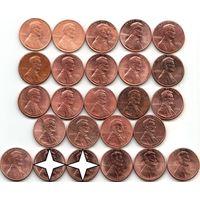 США 1 цент - на выбор