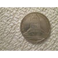 3  марки ,  Германия , Саксония ,1913 г.