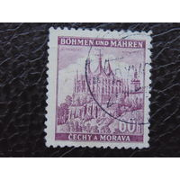 Рейх.  Богемии и Моравии 1941г. Кутна гора.