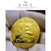 """Памятная монета """"Панда"""" 40 мм . распродажа"""