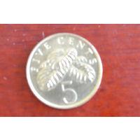 Сингапур 5 центов 1995