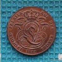 Бельгия 5 центов 1811 года. Лев.