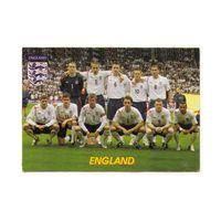 Футбольная карточка Сборная Англии