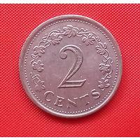 59-18 Мальта, 2 цента 1972 г.