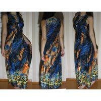 Платье длинное, вискоза, НОВОЕ, L/XL, 46-48 разм.