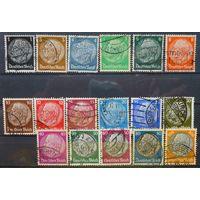 Германия\535\ 3 рейх 1933 г.- Гинденбург -17 марок Гаш